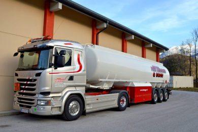 Fuhrpark Hettegger & Sohn - Scania 490