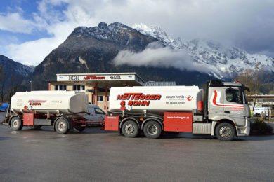 Fuhrpark - Firma Hettegger & Sohn - Mercedes 480