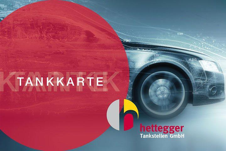 Tankkarte - Hettegger Tankstellen in Salzburg