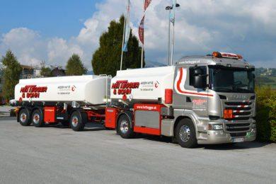 Fuhrpark - Firma Hettegger & Sohn - SCANIA 450